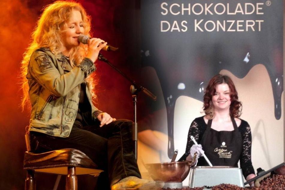 Für Konzert: Christina sucht das süße Schoko-Mädel
