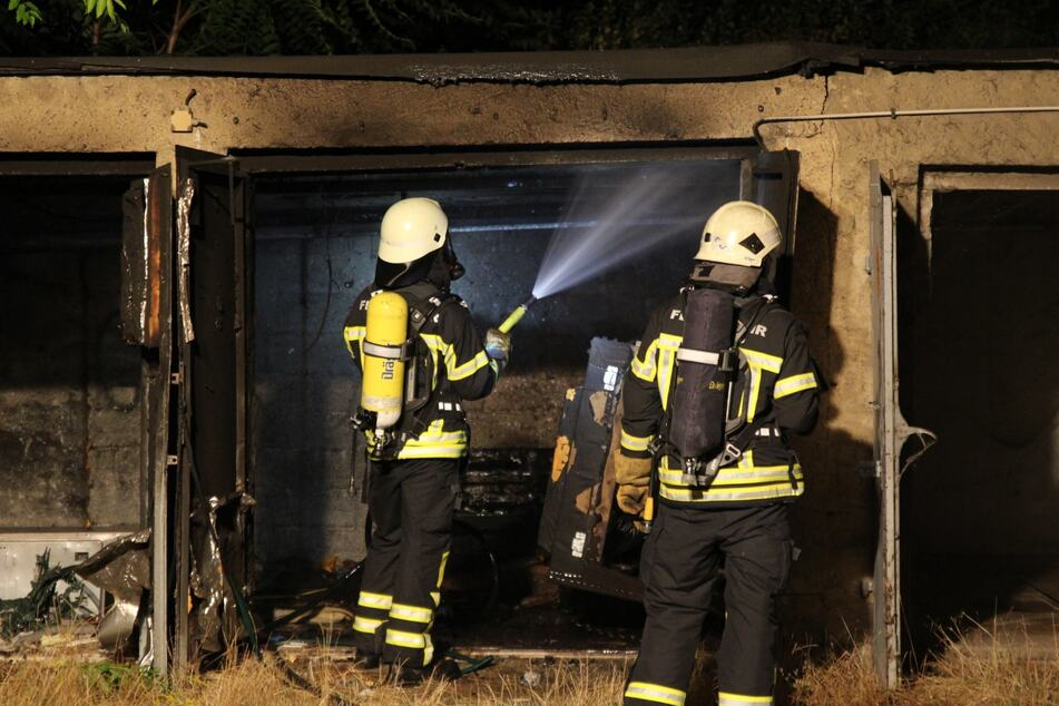 Obdachlose schliefen dort: Alte Baracke in Leipzig-West in Brand gesetzt