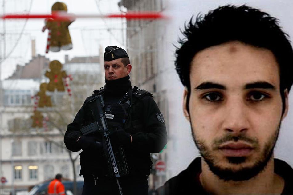 Anschlag auf Weihnachtsmarkt in Straßburg: Mutmaßlicher Attentäter noch immer auf der Flucht!