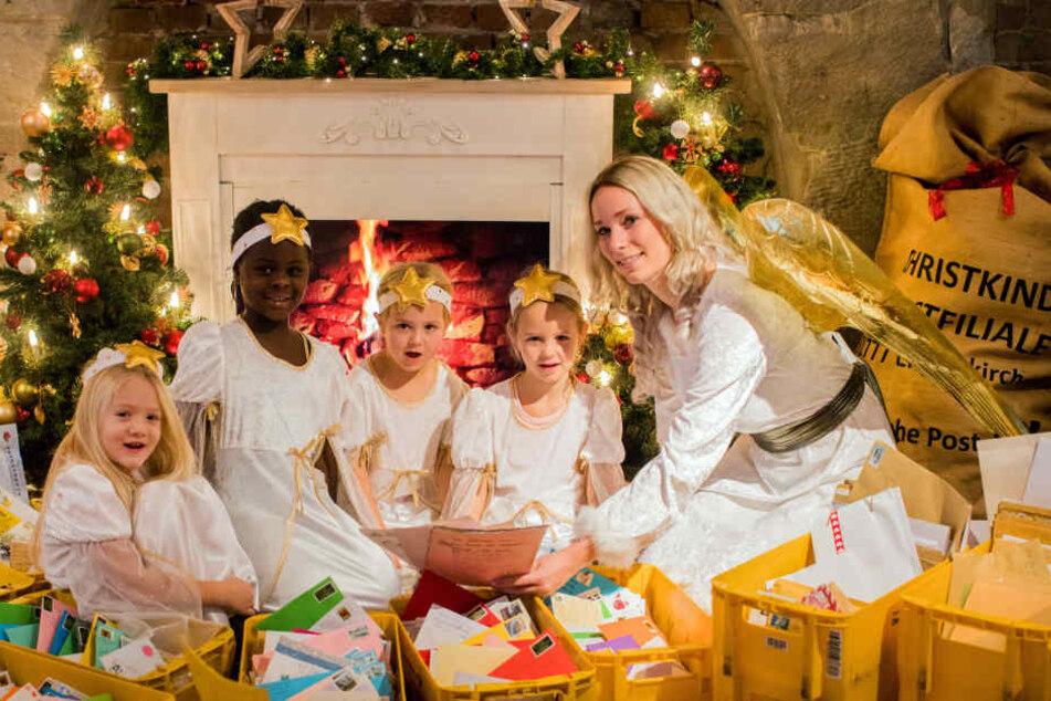 Mit ein paar Helfern kann das Christkind nahezu alle Wünsche erfüllen.