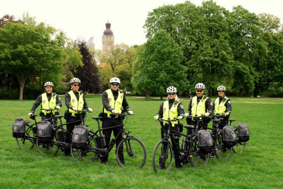 Sechs Mitarbeiter sind in Zukunft auf dem Rad im Einsatz.