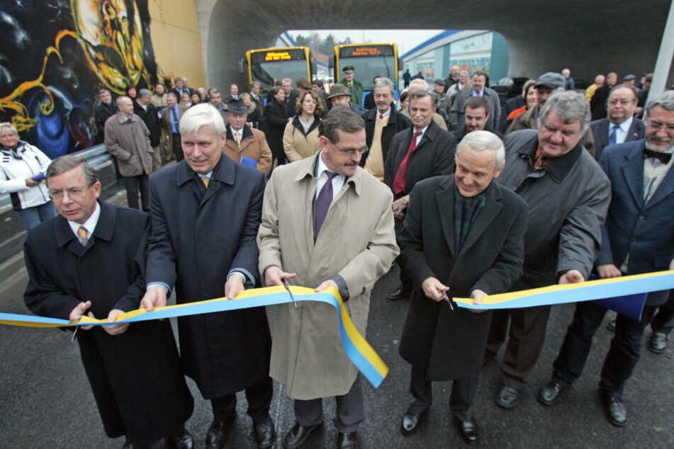 2005 gab es das letzte Mal Grund zum Feiern, als der Südring zwischen  Bernsdorfer und Augustusburger Straße eröffnet wurde.