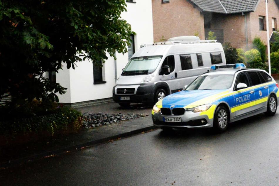 Die Polizei wurde zum Einsatz in das Wohngebiet in Mastholte-Süd gerufen.