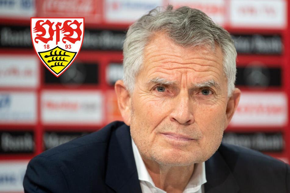 Das sagt VfB-Präsident Dietrich über die Rücktrittsforderungen der Fans