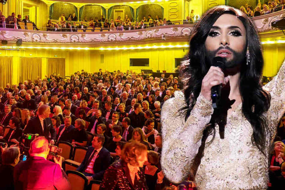 Jetzt ist es raus: Conchita Wurst (28) singt bei der Hope-Gala in Dresden.