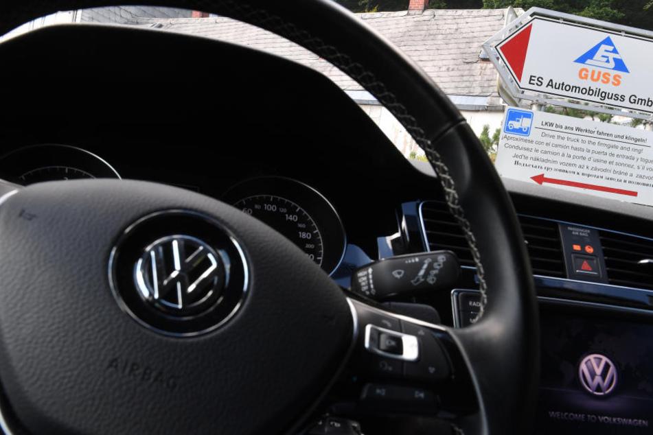 Volkswagen ist der größte Abnehmer von Gussteilen von ES Automobilguss in Schönheide.