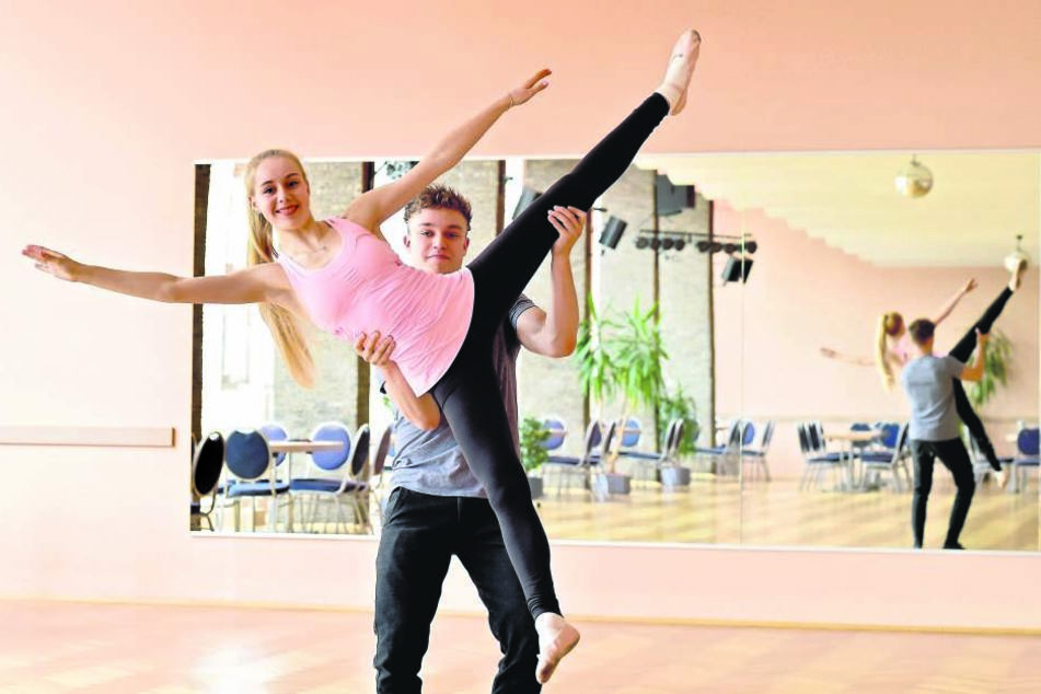 Lutricia Bock (18) und David Neubert können nicht bei Stardance antreten.