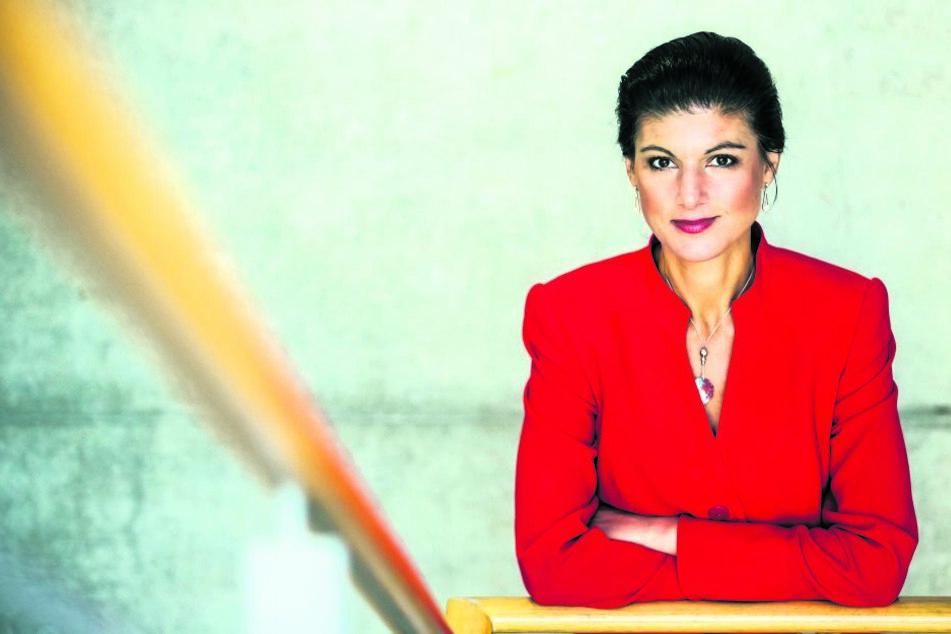 Oppositionsführerin im Bundestag: Sahra Wagenknecht (48). Mit der Linken will die  Fraktionschefin drittstärkste Kraft im Parlament bleiben.