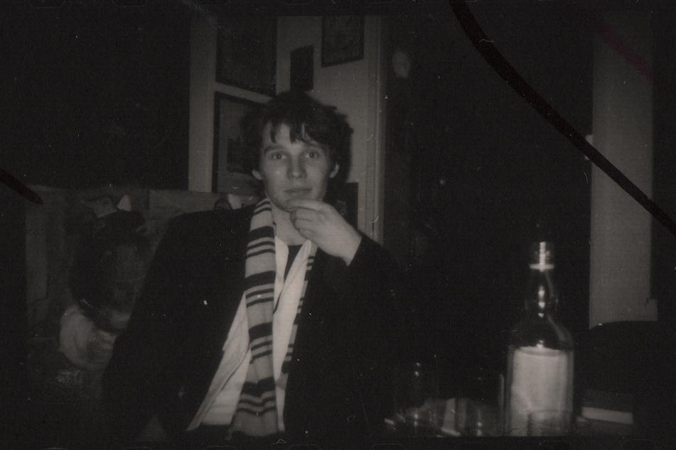 Porträt des Künstlers als junger Mann: Joerg Waehner in Karl-Marx-Stadt, ca. 1985.