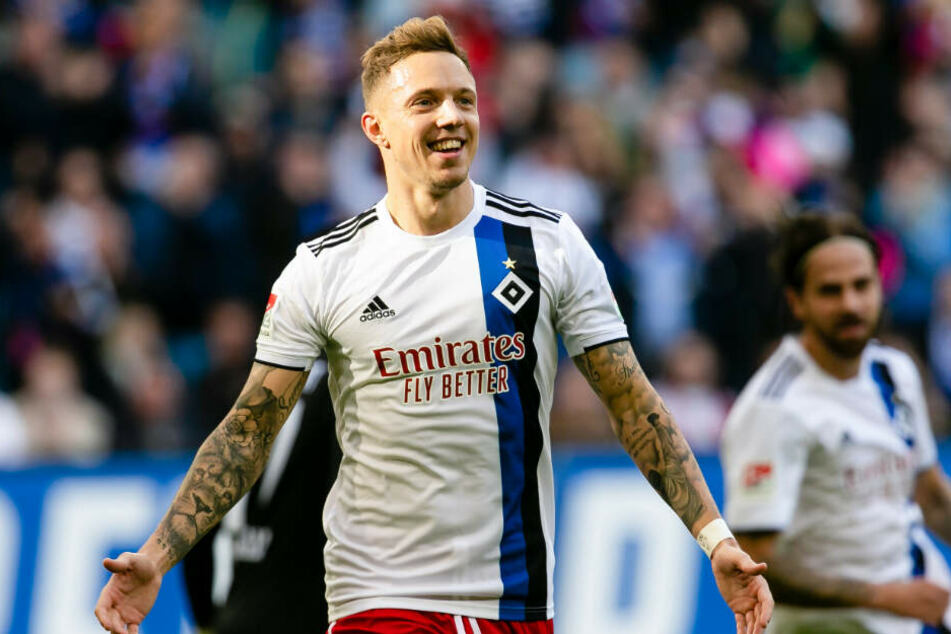 Sonny Kittel trumpft in dieser Saison beim Hamburger SV groß auf.