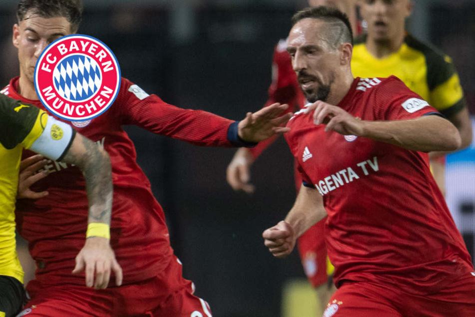Ribéry-Eklat nach Pleite gegen BVB: Bayern-Star soll TV-Experten geschlagen haben