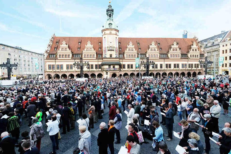Kaum Gäste und Millionen in den Sand gesetzt: Was war los am Kirchentag?