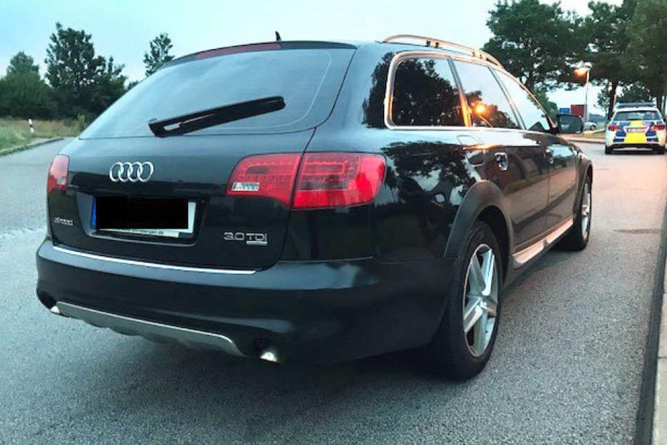 Den Polizisten fielen die Audis vom Typ A6 wegen den Beschädigungen im Türgriff- und Schlossbereich auf. (Symbolbild)