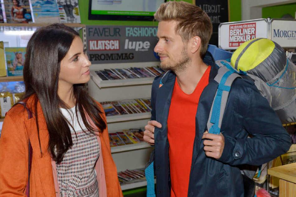 Laura trifft im Spätkauf auf Philip.