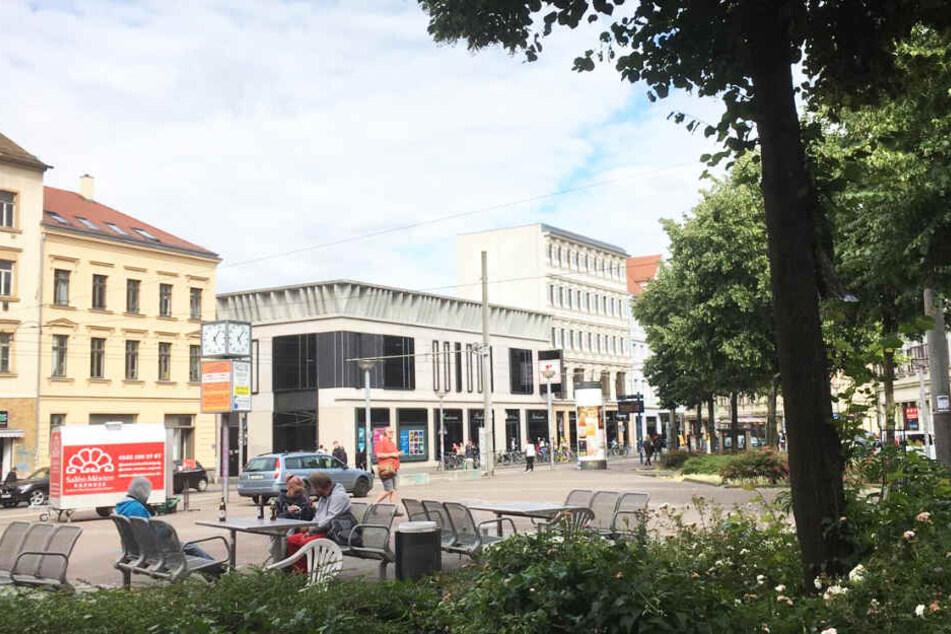 Der Lindenauer Markt im Leipziger Westen soll verkehrsberuhigt gestaltet werden.
