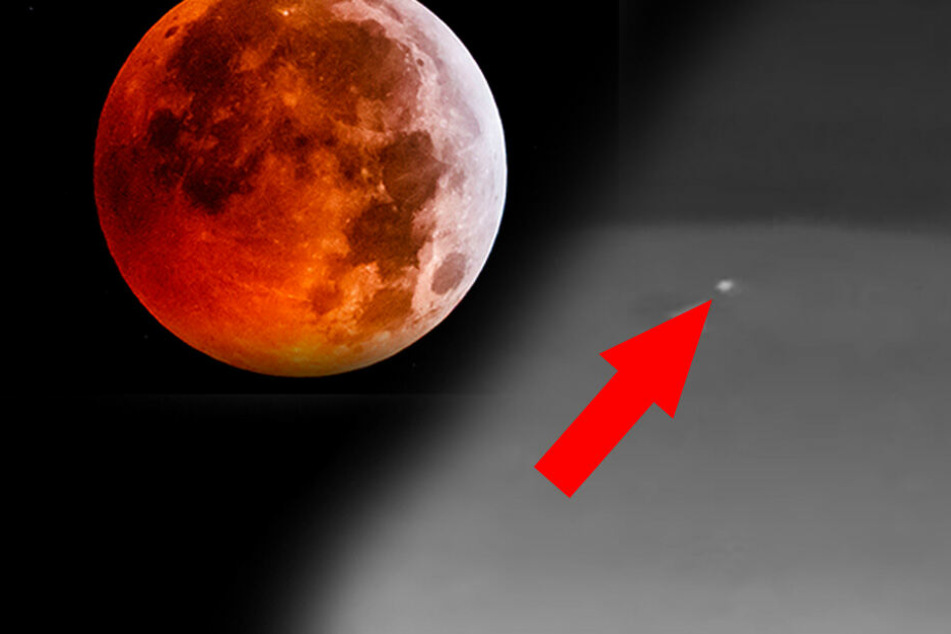Asteroiden & Meteoriten: Unglaublich! Meteorit schlägt während Blutmond in den Erdtrabanten ein!