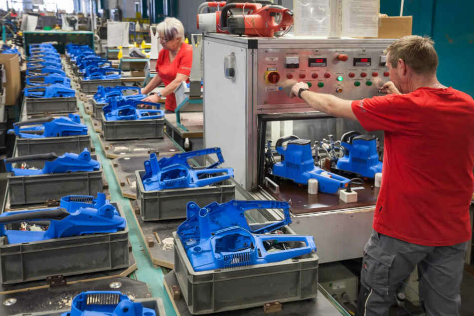 Die Firma Mogatec in Zschopau produziert seit 25 Jahren Gartentechnik für  namhafte Hersteller.