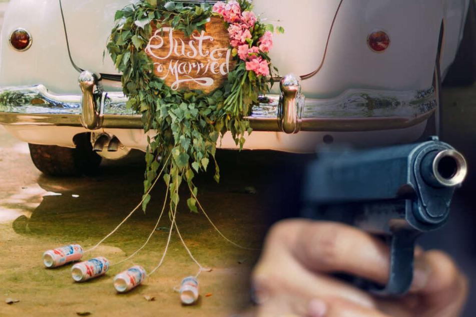 Mehrere Schüsse: Türkischer Hochzeitskorso ballert mit Waffe rum