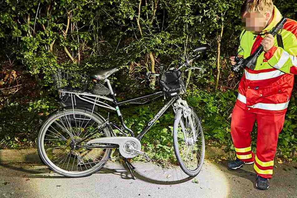 """Das Fahrrad der Marke """"California"""" mit dem der 68-jährige Mann stürzte."""