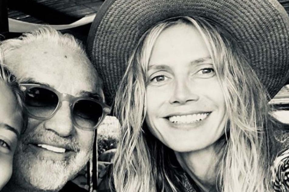 Flavio Briatore und Heidi Klum scheinen ihren Frieden miteinander geschlossen zu haben.