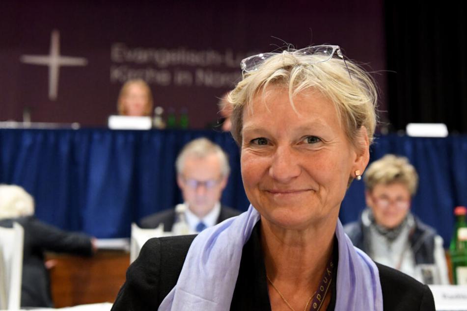 Kirsten Fehrs, Bischöfin, bei der Eröffnung der neuen Landessynode der Nordkirche im vergangenen Jahr.