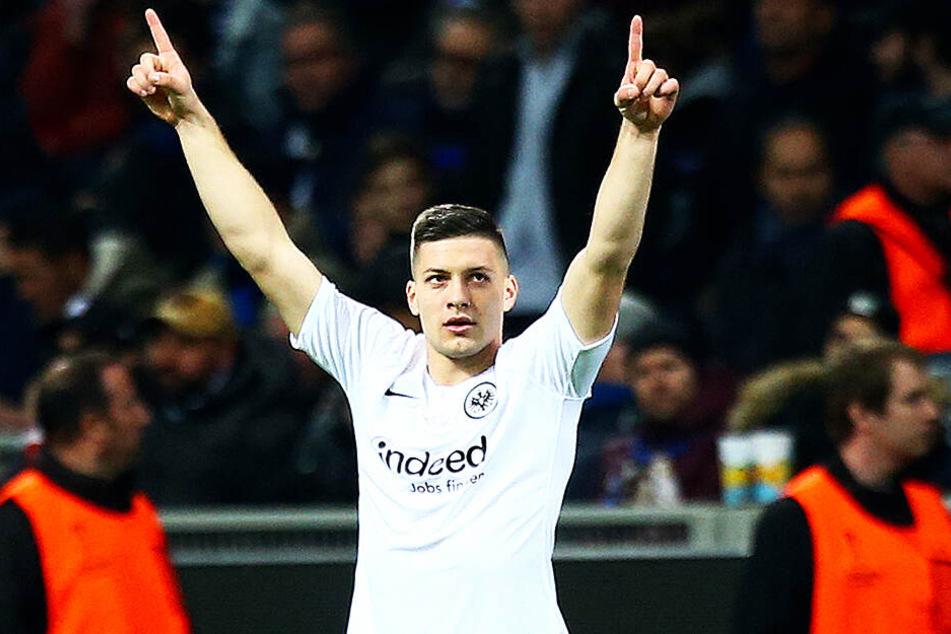 Eintracht Frankfurts Shootingstar Luka Jovic wird der DFB-Verteidigung einiges abverlangen.