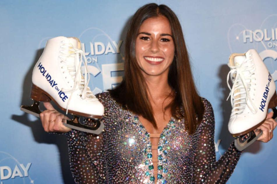 """Sarah Lombardi wird als Gast-Star bei """"Holiday on Ice"""" dabei sein."""