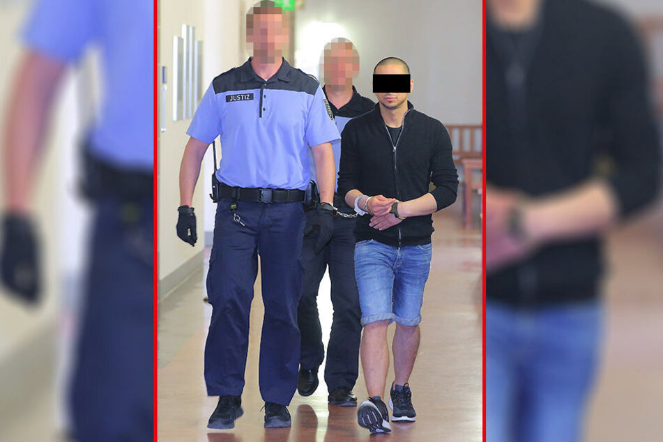 Mohamed H. (35) war der Schrecken vom Kaufland in Bautzen.