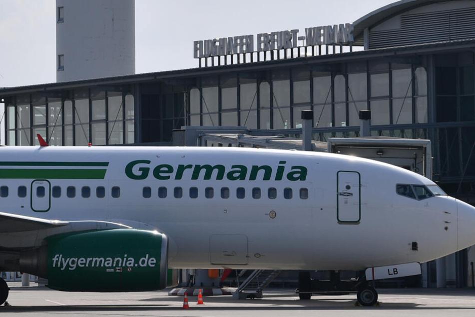 Nach Germania-Pleite: Folgen für Flughafen Erfurt-Weimar noch unklar