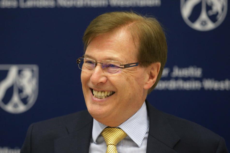 NRW-Justizminister Wolfgang Biesenbach.