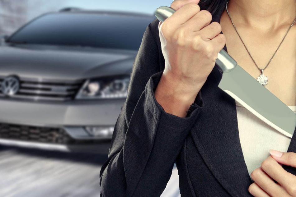 Die beiden Frauen sind mit VW Passat geflüchtet. (Symbolbild)