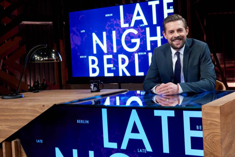 Klaas hat sich in seiner Sendung Late Night Berlin einen Song für den Klimaschutz veröffentlicht.