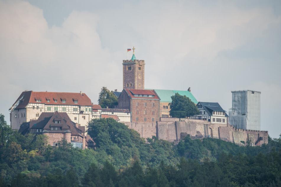 Die Wartburg über Eisenach wird zum Thüringer Motiv werden.
