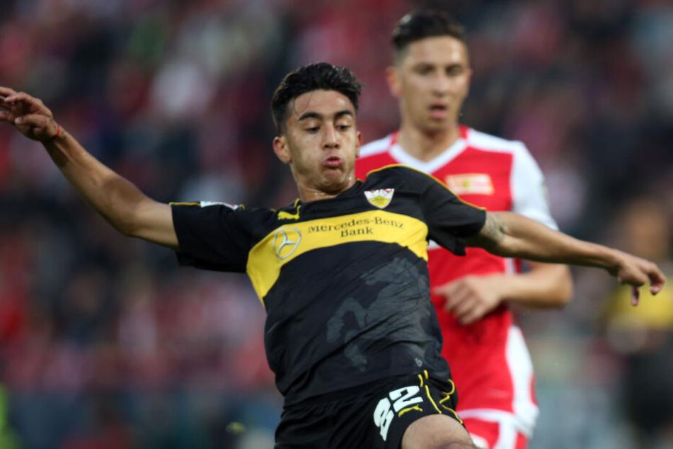 Nicolas González in Aktion. Er erzielte das Siegtor gegen den FC St. Pauli.