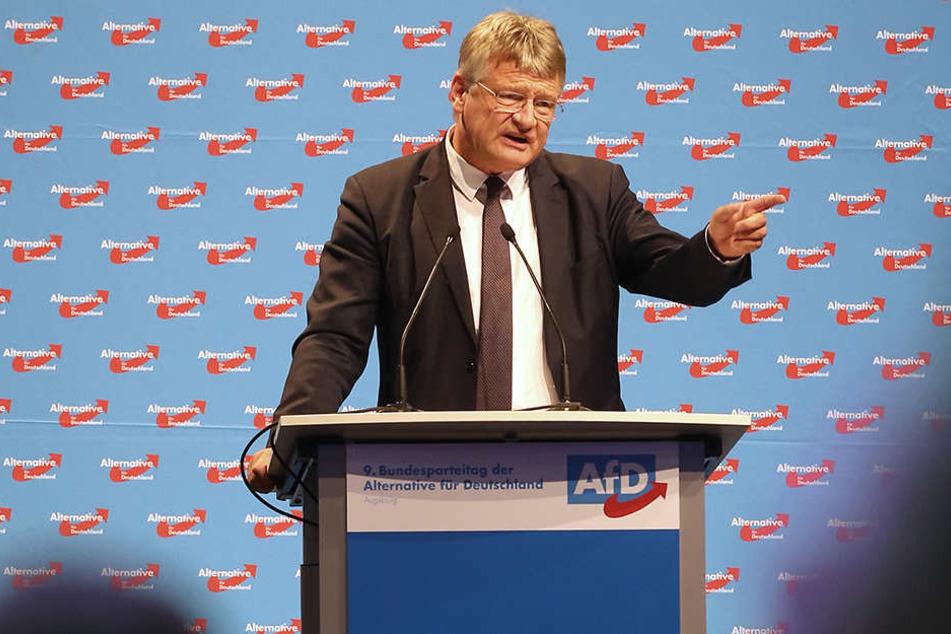 Der AfD-Vorsitzende Jörg Meuthen (57) sucht nach Mitstreitern für eine Festung Europa.