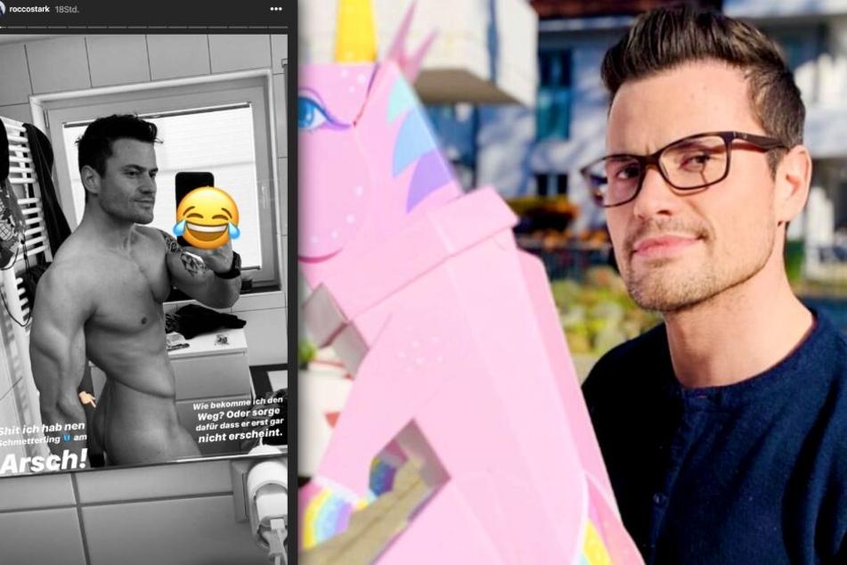 Rocco Stark (33) zeigt sich auf Instagram völlig hüllenlos.