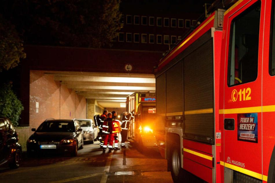 Der Rettungsdienst brachte den Verletzten ins Krankenhaus.