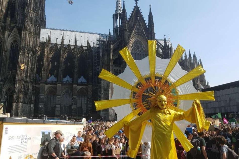 Ende Mai kamen mehrere Tausend Menschen zur Fridays for future Demo in Köln zusammen.