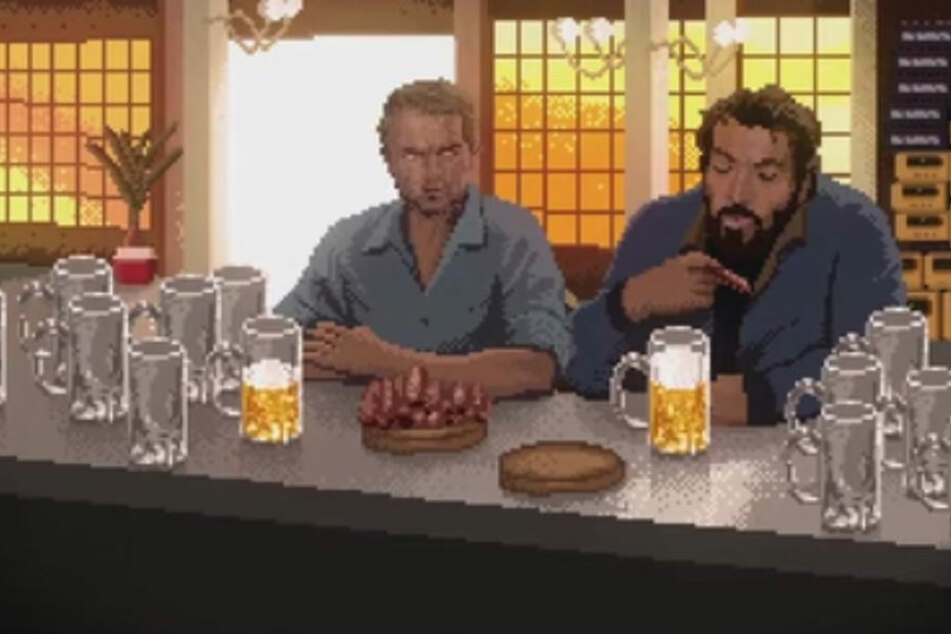 Das Spiel basiert auf Szenen aus den Filmen.
