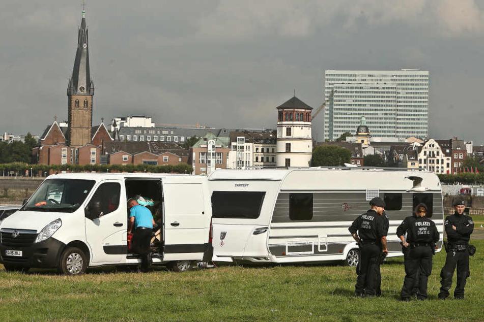 Irische Traveller halten Polizei und Bevölkerung in Atmen. (Symbolbild)