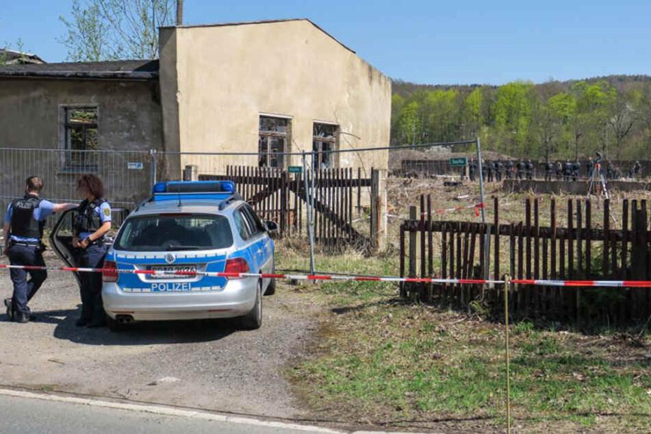 Der Tote in Aue: Jetzt ermittelt die Mordkommission.