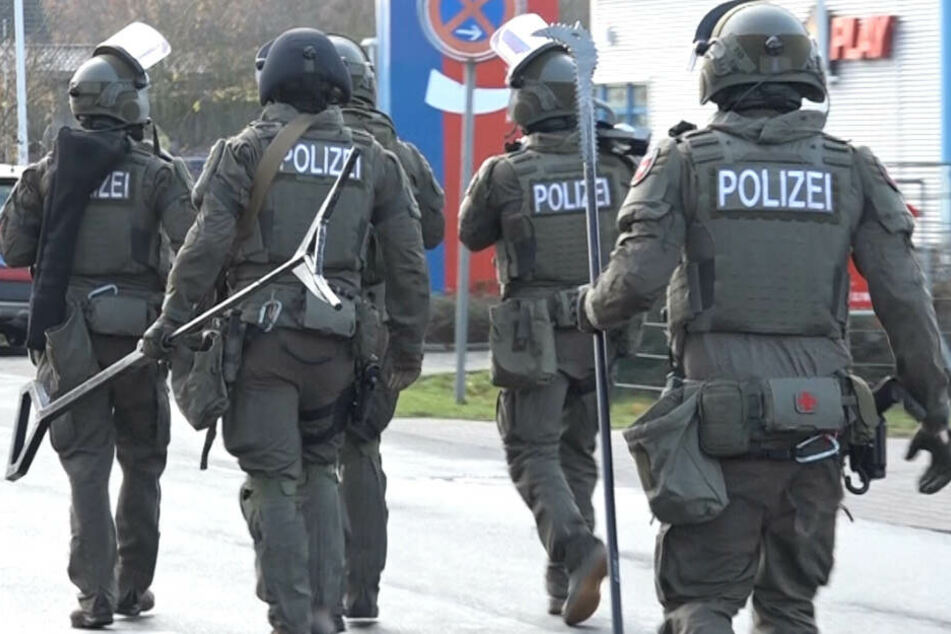 Die Lage in Buchholz hat sich nach einem Polizeieinsatz beruhigt.