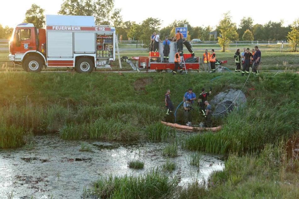 Ein Schwede betankte seinen BMW mit Benzin statt Diesel. Als er den Fehler bemerkte, entleerte er den Kraftstoff in die Kanalisation.
