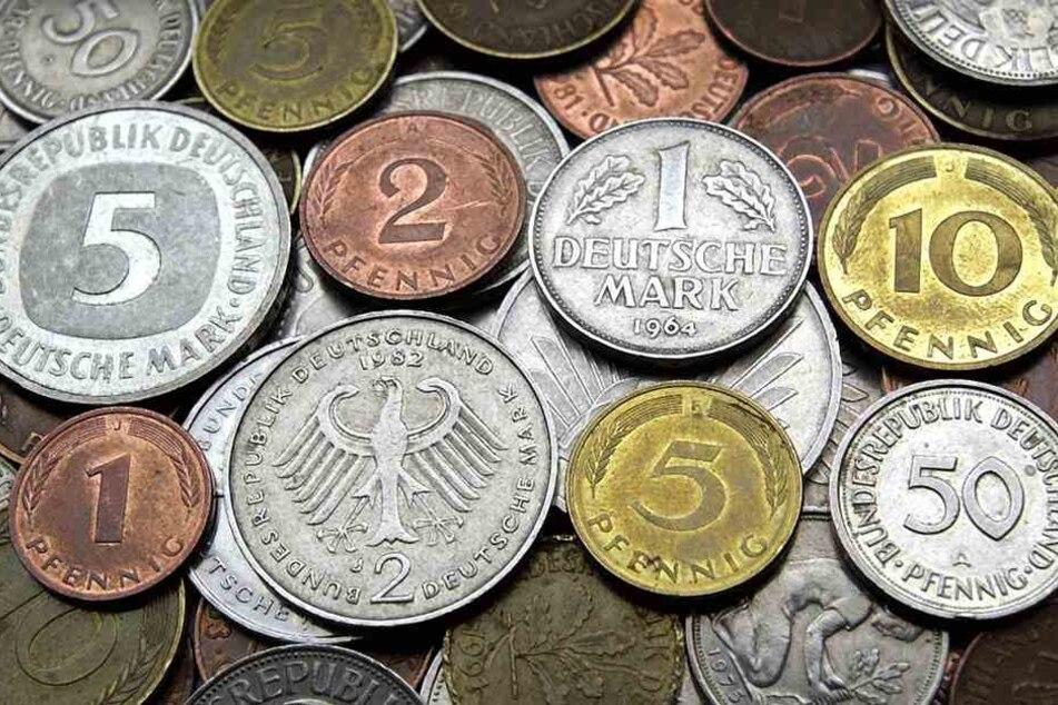 Wären doch wenigstens große Münzen dabei gewesen... (Symbolbild).