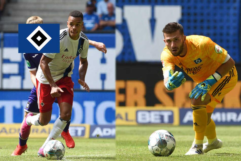 So könnte der HSV zum Saisonstart gegen den SV Darmstadt auflaufen