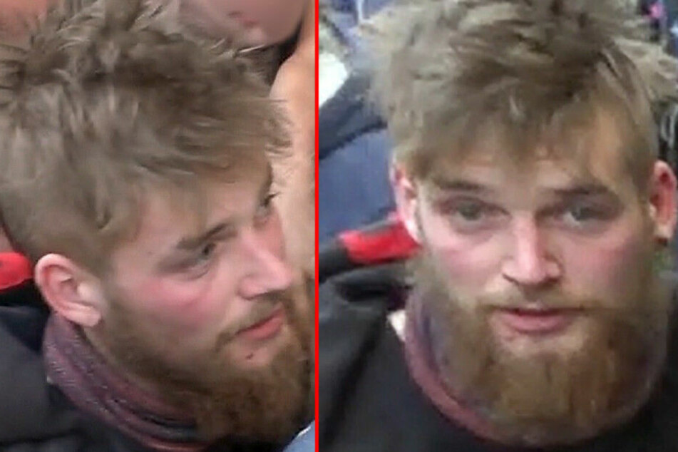 Mit diesen Fotos sucht die Polizei nach dem Gesuchten.