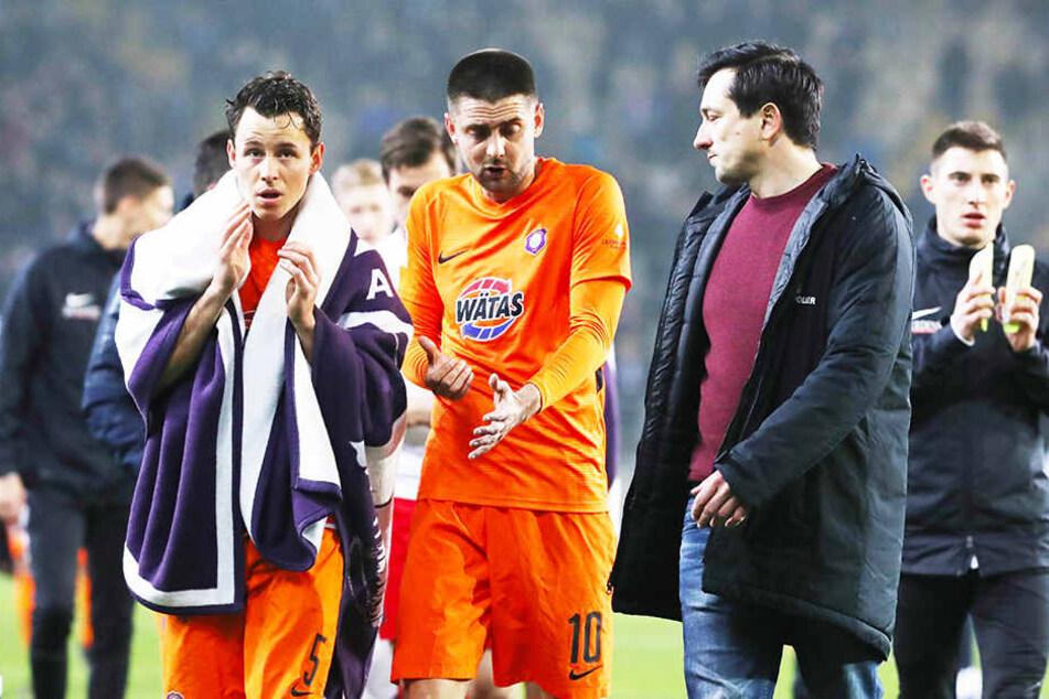 Der FC Erzgebirge Aue beschönigte die Niederlage in Bielefeld zu sehr.
