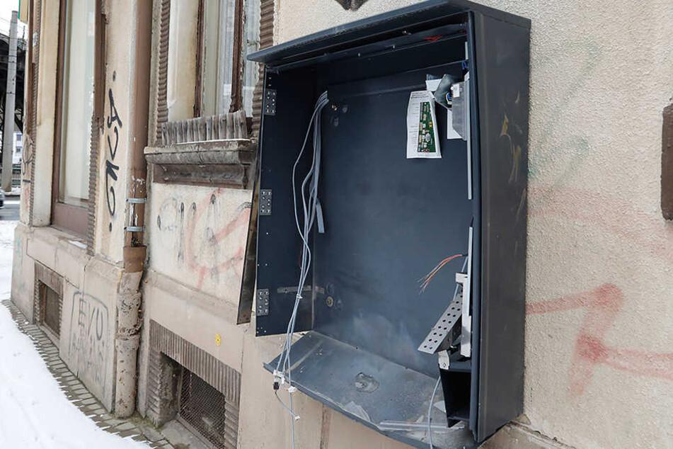 In Plauen und Treuen wurden am Sonnabendabend zwei Zigarettenautomaten gesprengt. (Symbolbild)