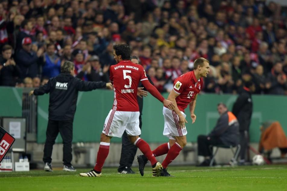 Auch die Bayern dürfen künftig im DFB-Pokal viermal wechseln.