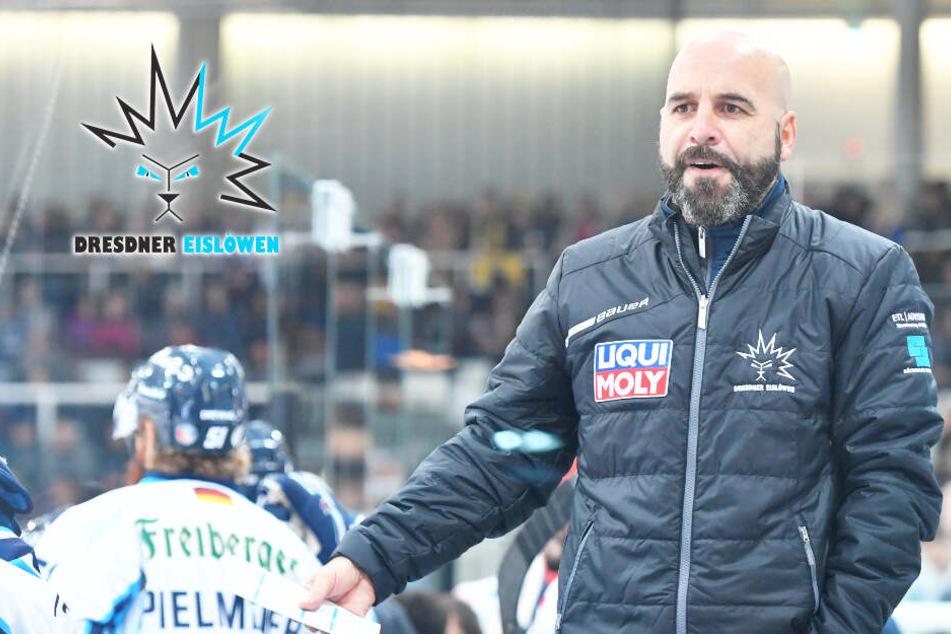 Trotz Eislöwen-Pleite im Derby: Rossi gibt dem Team vier Tage frei
